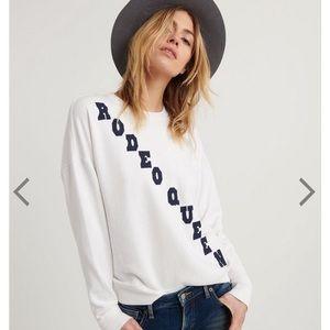 Rodeo queen sweatshirt